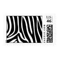 Zebra Print stamp