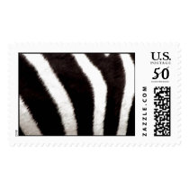 Zebra Print Postage