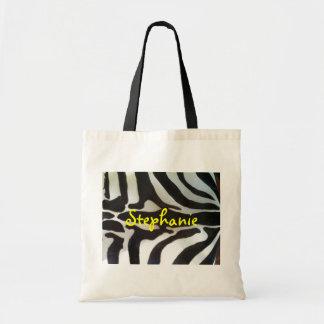Zebra Print protective shoe bag