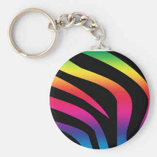 zebra-print-rainbow1 llavero personalizado