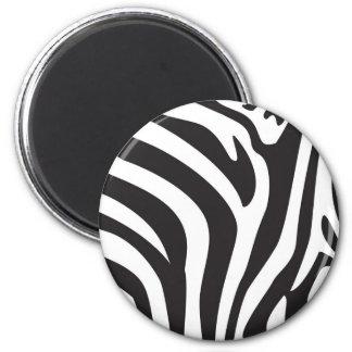 Zebra Print Refrigerator Magnet