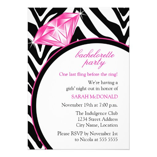 Printable Bachelorette Party Invitations absolutely amazing ideas for your invitation example