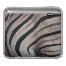 Zebra print sleeve for iPads