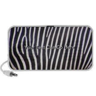 Zebra Print iPod Speakers