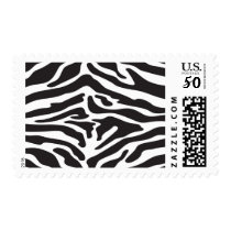 Zebra Print Stamp white part can be any color
