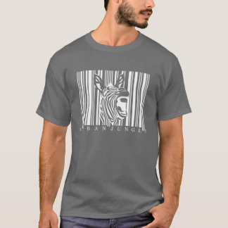 Zebra print - Urban Jungle 02 - Dark T-shirt