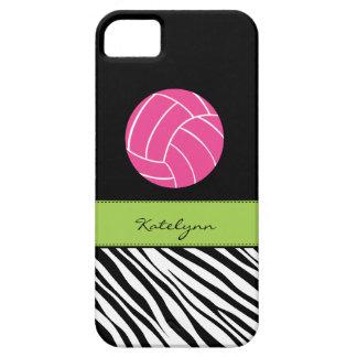 Zebra Print Volleyball iPhone 5 Case