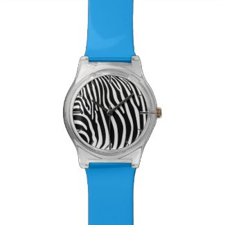 Zebra Print Wrist Watch