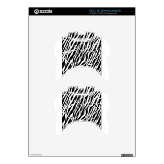 Zebra Print Xbox 360 Controller Decal