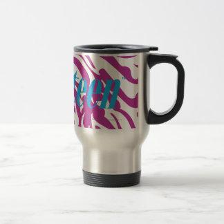 Zebra Purple Mug