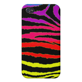 zebra rainbow iphone Case