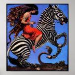 Zebra Rider Posters