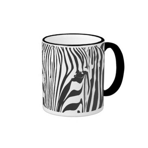 Zebra! Ringer Coffee Mug