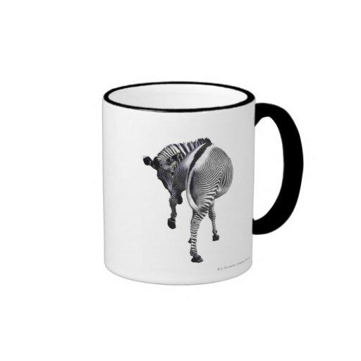 zebra ringer mug