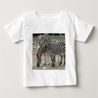 Zebra Safari Cute African Classy Stripes Baby T-Shirt