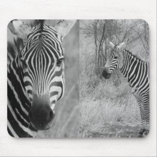Zebra Safari Cute African Classy Stripes Mouse Pad