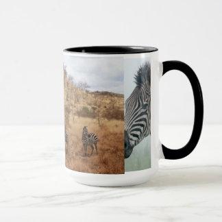 Zebra Safari Cute African Classy Stripes Mug