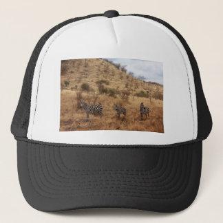 Zebra Safari Cute African Classy Stripes Trucker Hat