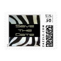 Zebra Save the Date Postage