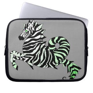 Zebra Seahorse Laptop computer sleeve