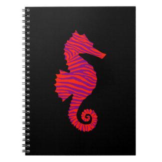 Zebra Seahorse Notebook