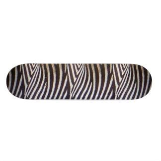Zebra Skateboard Deck