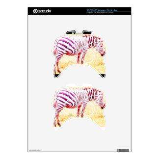 zebra xbox 360 controller skins