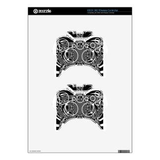 Zebra Xbox 360 Controller Decal
