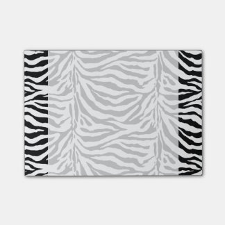 Zebra Skin Background  (Add Background Color) Post-it Notes
