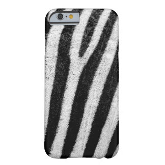 Zebra skin barely there iPhone 6 case