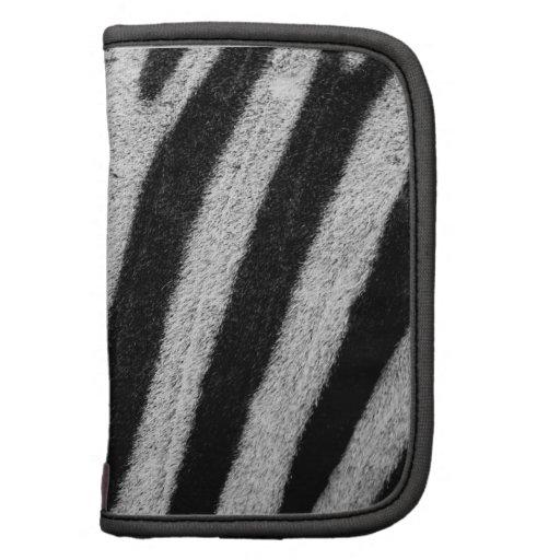 Zebra Skin Folio Planner