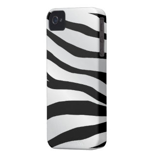 Zebra Skin iPhone 4/4S Case-Mate Barely There iPhone 4 Case