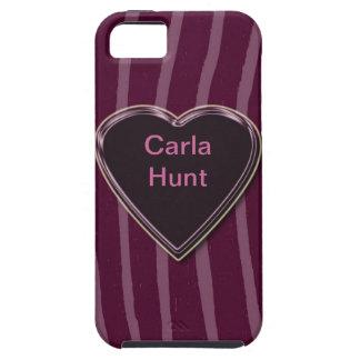 """""""Zebra Skin lilac/deep/pink""""case mate"""".* iPhone SE/5/5s Case"""