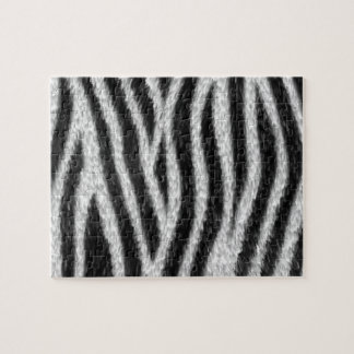 Zebra Skin Pattern Puzzle