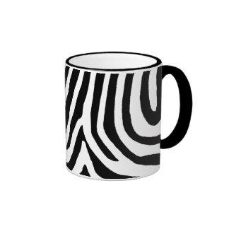 zebra skin, patterns mug
