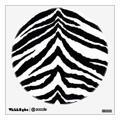 Zebra Skin Print Wall Skins