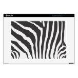 Zebra Skin Stripe 15 inch Laptop Skin Mac PC
