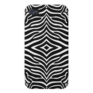 Zebra Skin Style Pattern iPhone 4 Case