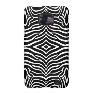 Zebra Skin Style Pattern Samsung Galaxy S2 Case