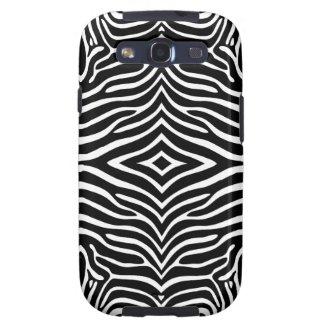 Zebra Skin Style Pattern Samsung Galaxy S3 Case