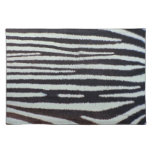 Zebra skin surface cloth placemat