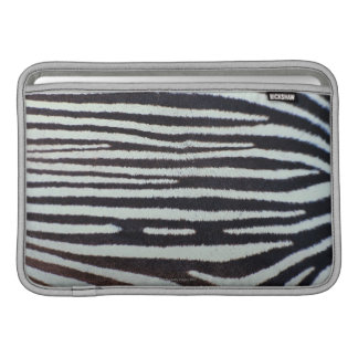 Zebra skin surface MacBook air sleeve