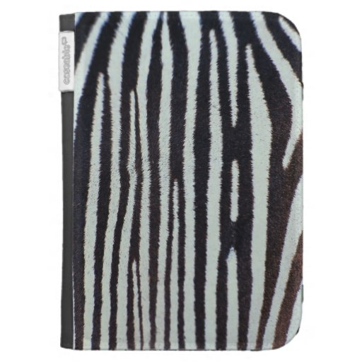 Zebra skin surface kindle 3 covers