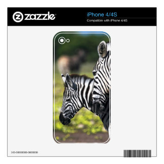 Zebra Skins For The iPhone 4S