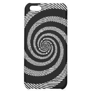 Zebra spiral optical illusion iPhone 5C case