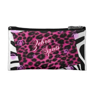 Zebra Spots Cosmetics Bag