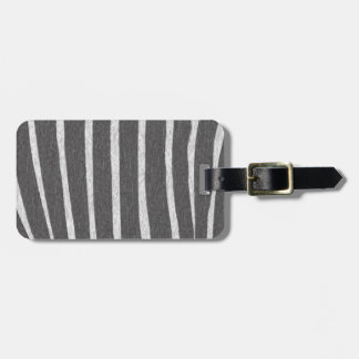 Zebra Strip Collection Tag For Bags