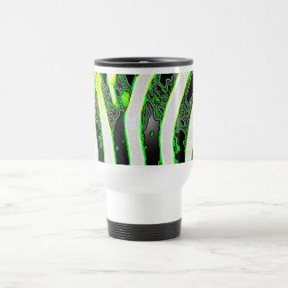 Zebra Stripe Abstract Travel Mug