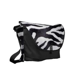 Zebra Stripe Animal Print Wild Cat Bag Tote Purse Messenger Bag