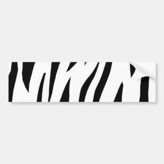 Zebra Stripe Bumper Sticker